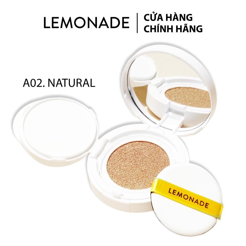 Phấn nước mịn lì dành cho da khô và da thường Lemonade Matte Addict Single Cushion 15g