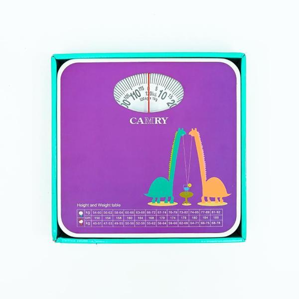Cân sức khỏe Cân gia đình Camry BR9015H114 cao cấp hoạt động cơ học, trọng tải tối đa 120kg ( bước nhảy 0.1kg )