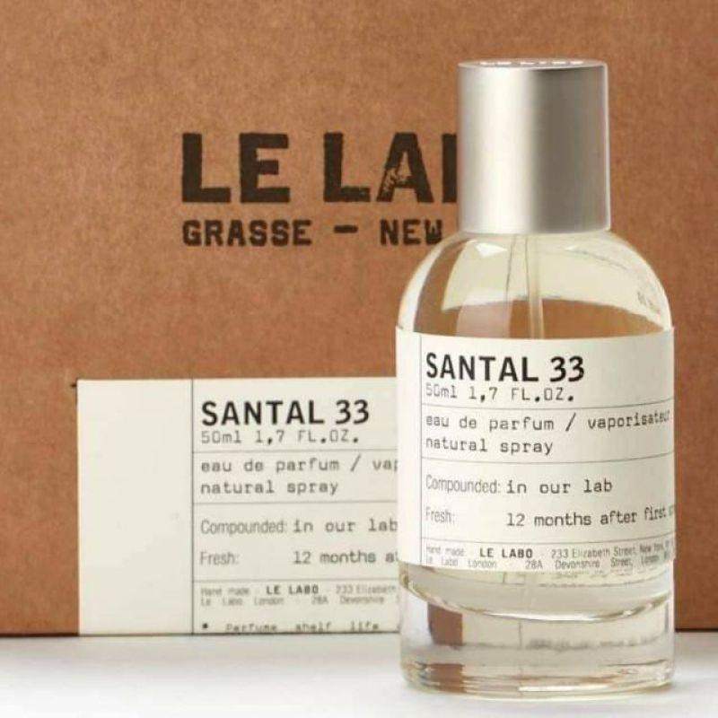 [Chiết 10ml] Nước hoa Unisex Le Labo Santal 33