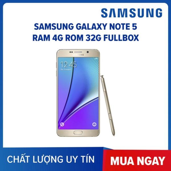 điện thoại Samsung Note 5 2sim - 64GB- Samsung Galaxy Note 5 2sim ram 4G/64G mới Chính Hãng