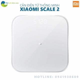 Cân điện tử thông minh xiaomi scale 2 theo dõi sứ khỏe đồng bộ với điện thoại thumbnail