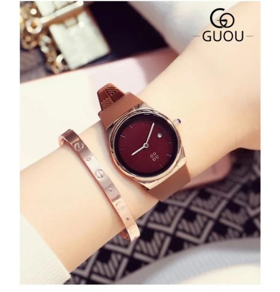 Nơi bán Đồng hồ nữ GUOA mặt tron/ thời trang