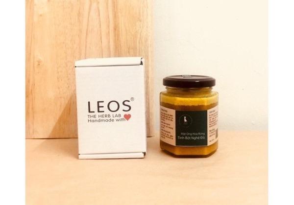 Tinh Bột Nghệ Đỏ Ngâm Mật Ong Hoa Rừng - HANDMADE by LEOS - The Herb Lab