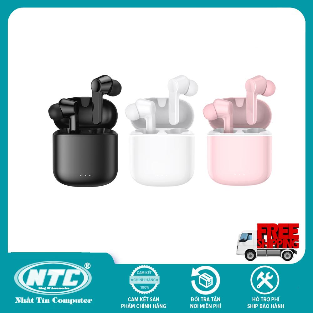 Tai nghe Bluetooth True Wireless Remax TWS-7 V5.0 kết nối từng tai riêng lẻ, âm thanh cực hay, pin dùng đến 4H, chống nước tiêu chuẩn IPX5 - Hãng Phân Phối Chính Thức - Nhất Tín Computer