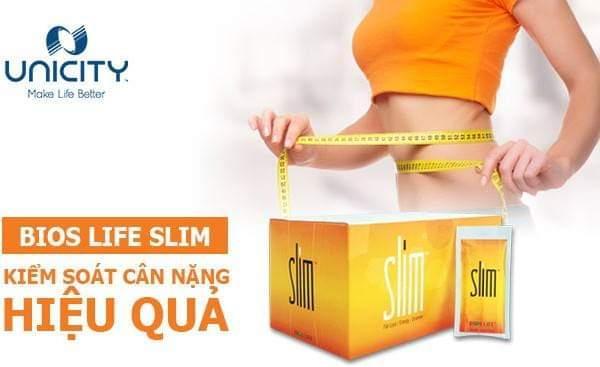 BIOS LIFE SLIM GIẢM MỠ THỪA TỪ UNICITY Hỗ trợ giảm cân hiệu quả,Bổ sung chất xơ,vitamin và các axit amin cho cơ thể,Giảm Cholesterol trong máu cao cấp