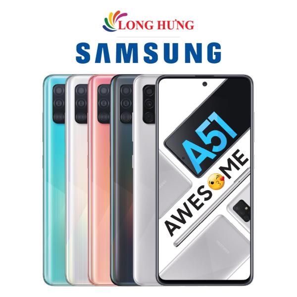 [Trả góp 0%] Điện thoại Samsung Galaxy A51 (6GB/128GB) - Hàng chính hãng -  Màn hình vô cực 6.5 Infinity-O Full HD+ bộ 4 Camera sau Pin 4000mAh