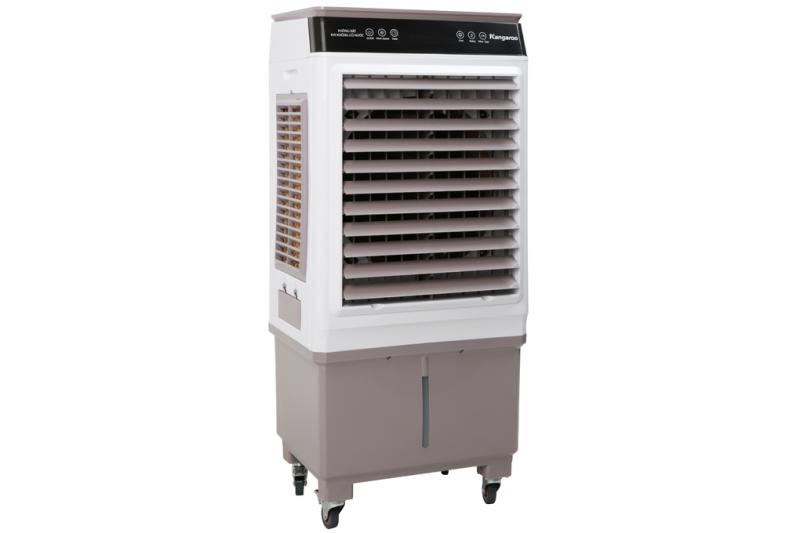 Quạt điều hoà Kangaroo KG50F79( HÀNG TRƯNG BÀY).Hoạt động mạnh mẽ với công suất 150W, cung cấp hơi nước làm mát tốt cho diện tích phòng 30 - 40 m 2.