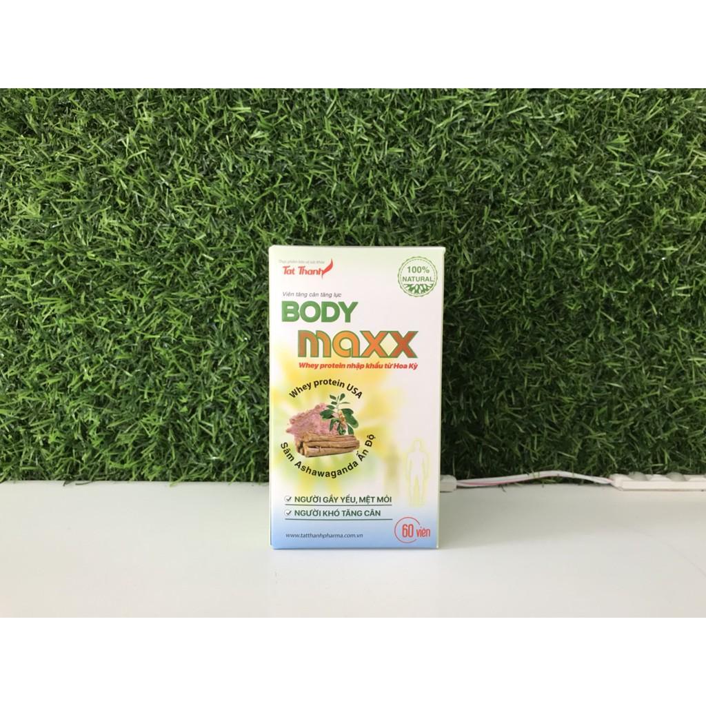 Viên tăng cân, tăng lực Body Maxx - 30v nhập khẩu