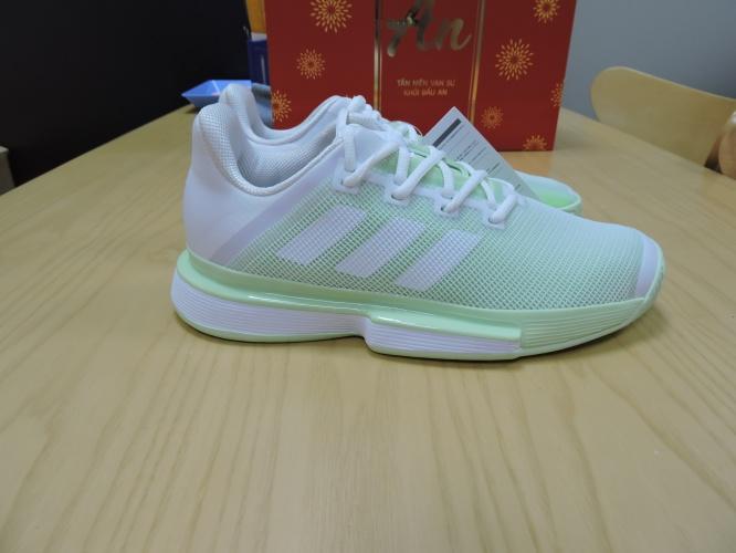 Giày Thể Thao Tennis Nữ Chính Hãng / Adidas SoleMatch Bounce M G26790 / Hải Hàng Hiệu giá rẻ