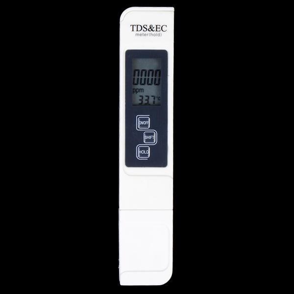 Combo bút đo độ PH và bút thử nước 3 in 1 TDS & EC kèm bao da