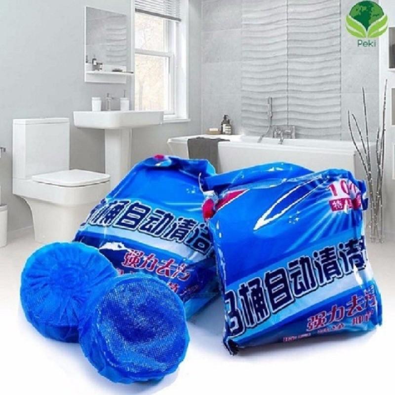 Viên tẩy bồn cầu - Viên tẩy Toilet COMBO 20 VIÊN - Viên tẩy bồn cầu - Viên tẩy Toilet