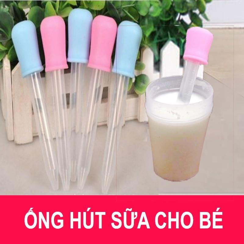 Combo 10 ống Bón Sữa Cho Bé Không Ty Bình Có Giá Tốt