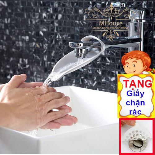 Mua 1 Tặng 1. Dụng cụ rửa tay kéo dài dòng nước gần bé