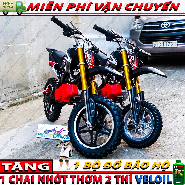 Mua Cao cao mini 50cc ( bánh to ) | xe moto mini 2 thì gắn máy cắt cỏ 2 thì xăng pha nhớt trẻ em