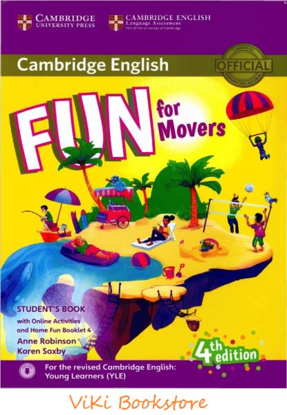 Cambridge Fun For Movers Student's Book: 4Th Edition