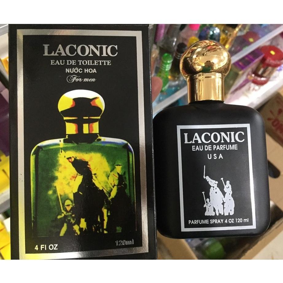 nước hoa Laconic 120ml chai đen cao cấp