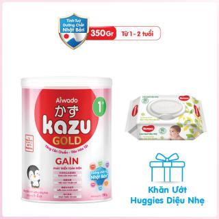 [Tinh tuý dưỡng chất Nhật Bản] Sữa bột KAZU GAIN GOLD 350g 1+ thumbnail