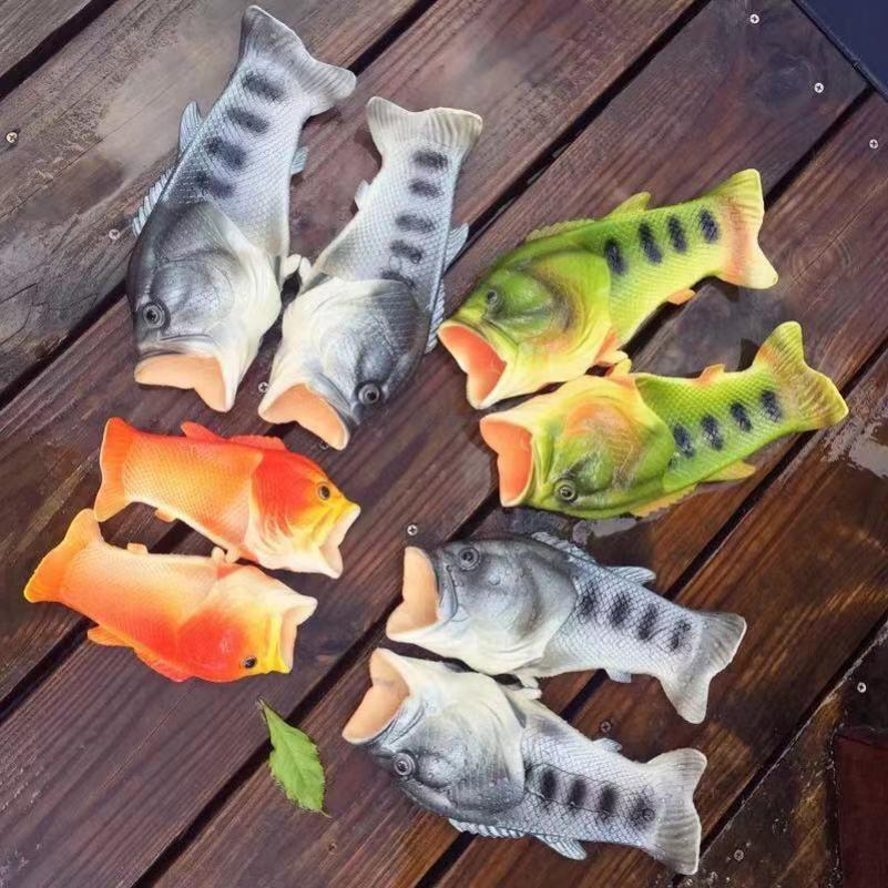 Dép Cá Chép Màu Cam Nhựa Dẻo Chất Lượng Cao giá rẻ