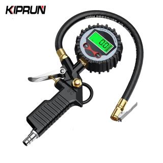 KIPRUN Tire Air Pressure Inflator Gauge 0-200 PSI LCD Display LED Backlight Vehicle Tester Inflation Monitoring Manometro thumbnail