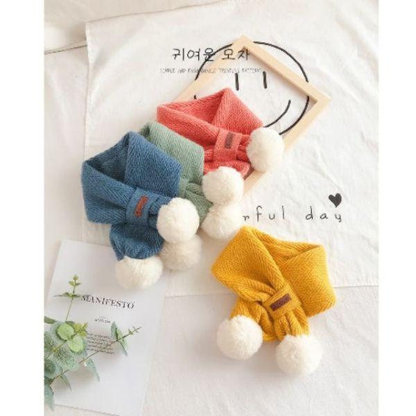 Giá bán Khăn len Hàn Quốc nhiều màu cho bé