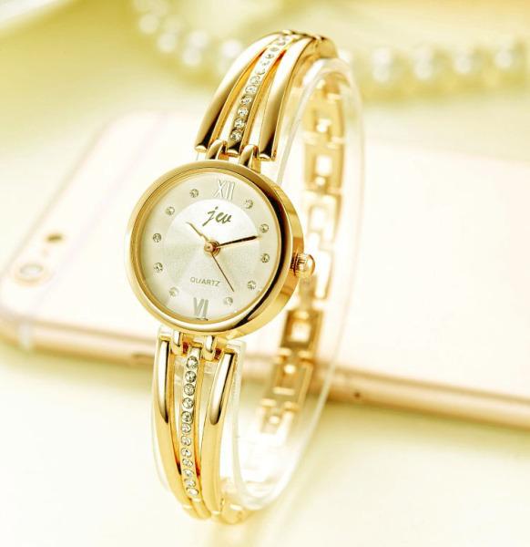 Đồng hồ nữ lắc tay JW cao cấp phối đá đính siêu sang - Mẫu Hot Trend 2020 GAD09 bảo hành 12 tháng (full hộp) bán chạy
