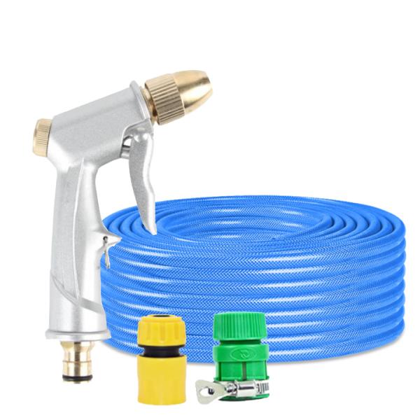 Vòi nước vòi phun nước rửa xe tưới cây tăng áp thông minh + bộ dây bơm nước 5m cao cấp TLG 206701