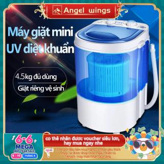 Máy giặt mini Xiaoe lồng giặt trong suốt máy giặt mini giặt đồ trẻ em thumbnail