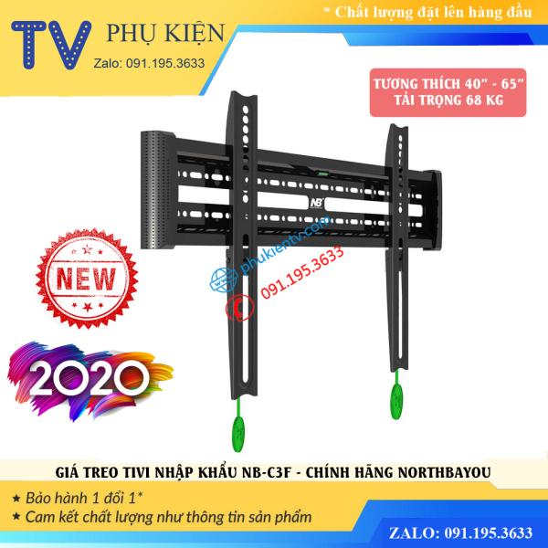 Giá treo tivi sát tường 2.9 cm NB-C3F 40 - 65 inch