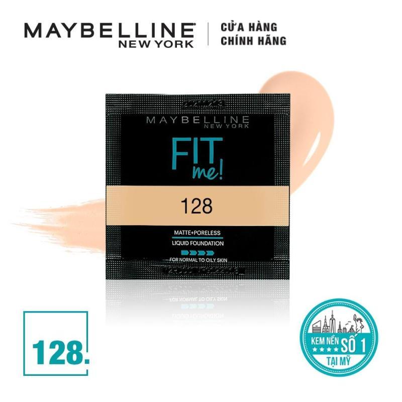 [QUÀ TẶNG KHÔNG BÁN] Mẫu thử Kem Nền Mịn Lì Tự Nhiên Maybelline New York Fit Me Matte Poreless Foundation 1.5ml