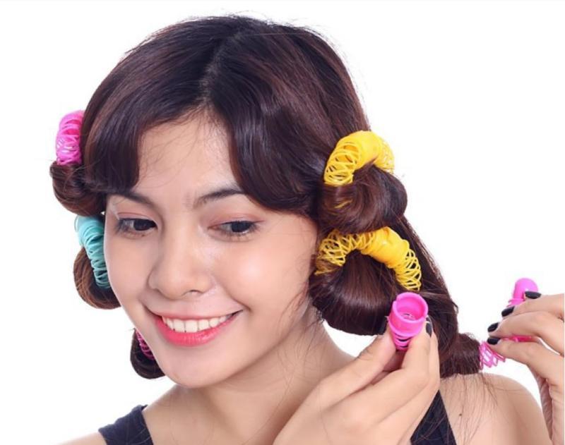 Bộ cuộn tóc lò xo 8 cuốn giá rẻ