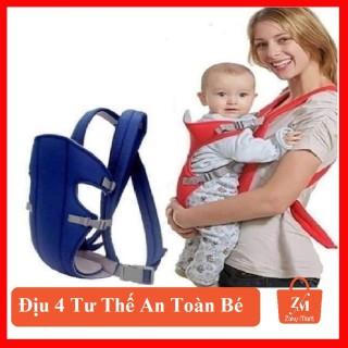 Địu 4 tư thế cho bé thiết kế đệm lưới an toàn bảo vệ cổ và đầu bé, cam kết hàng đúng mô tả, chất lượng đảm bảo an toàn đến sức khỏe người sử dụng, đa dạng mẫu mã thumbnail