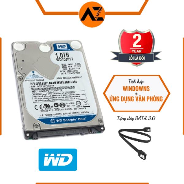Bảng giá [HCM]Ổ CỨNG LAPTOP GẮN TRONG WESTERN HDD 160GB / 250GB / 320GB / 500GB (Bảo hành 24 tháng) Phong Vũ