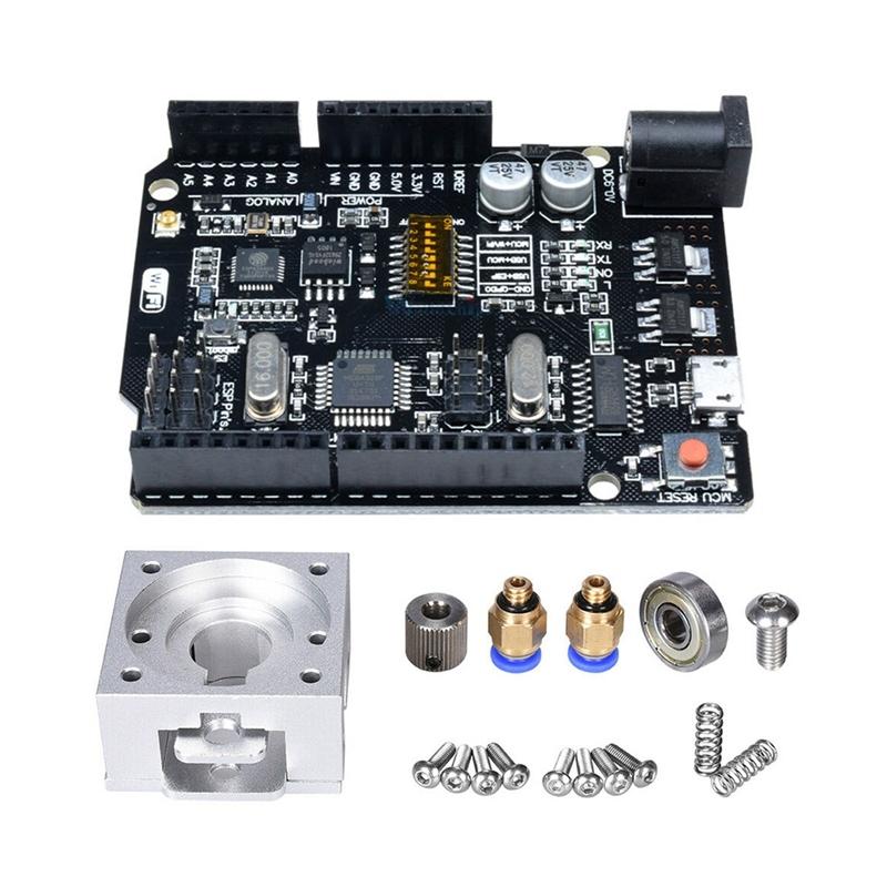Bảng giá 1 set For Reprap Bulldog All Metal Extruder 1.75mm/3mm DIY Part For J-Head Mk8 & 1pcs Voltage Regulator Module for Uno+Wifi R3 Atmega328P+Esp8266(32Mb Memory)Usb-Ttl Ch340G Phong Vũ