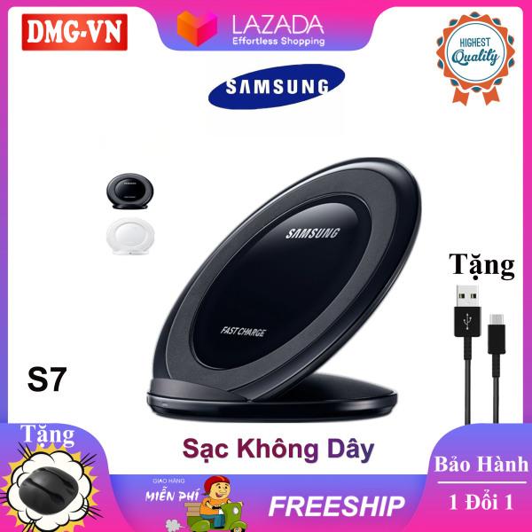 Giá Đế sạc không dây Samsung EP-N5100 (S7) EP-PG950 (S8) chuẩn Qi xài cho điện thoại SamsungS 7/S8/S9/S10/Note 8/Note 9、iPhone 8 X Xs 11 Pro và các dòng thiết bị điện thoại khác