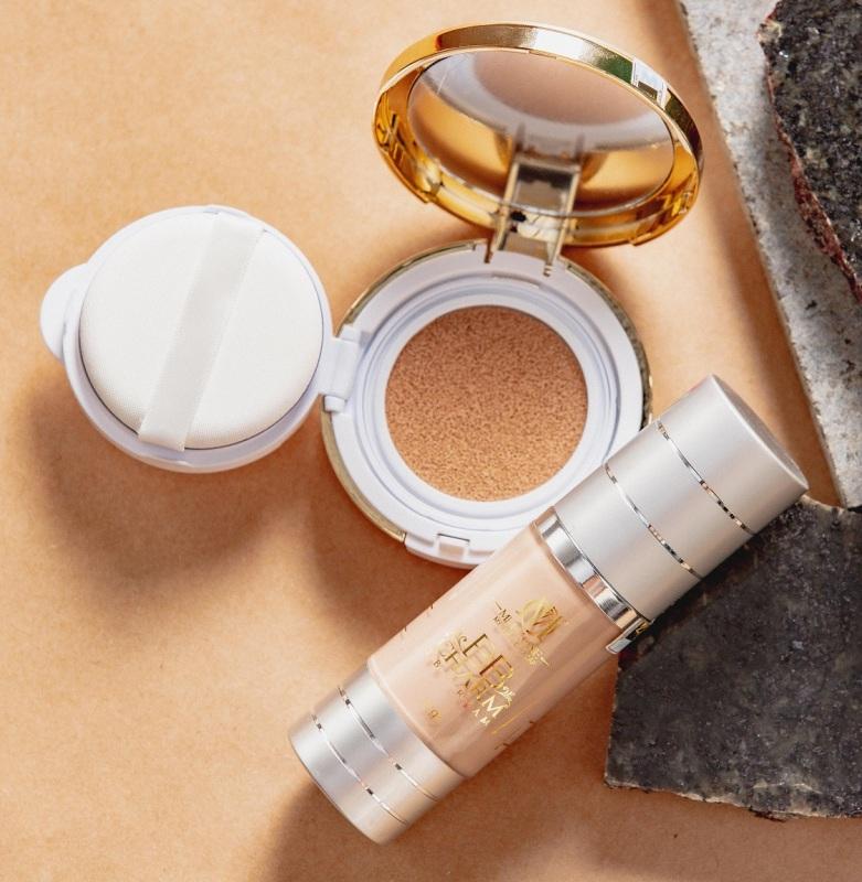 Combo Make Up Che Phủ Hoàn Hảo Mely One - Cream BB CHARM & Cushion BB ALLURE