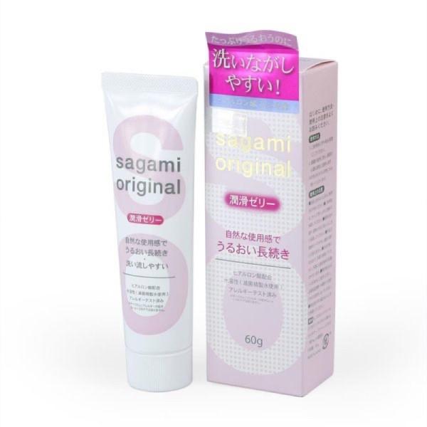 Gel Bôi Trơn Nhật Bản Sagami Original Tạo Độ Ẩm Tự Nhiên Tuýt 60G - Hàng Xịn giá rẻ