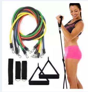 Bảng giá Bộ 5 Dây Kéo tập thể Lực - Bộ 5 dây đàn hồi tập kháng lực thể hình cao cấp cho nam và nử - dụng cụ tập gym - thể thao