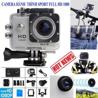 Camera hành trình chống nước Sport cam Full HD 1080p, Camera hành trình 4K - Camera Hành Trình 1080 Sports, Chống nước, Chống rung hoàn hảo Cho ô tô, Xe máy, xe đạp có 5 chế độ cân bằng sáng tự động - BMCAR,BH1 đổi 1 bởi NT store 4.0. thumbnail