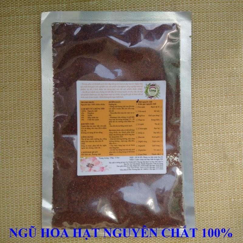 Ngũ hoa nguyên chất mặt nạ Ling 100g nhiều công dụng giá rẻ