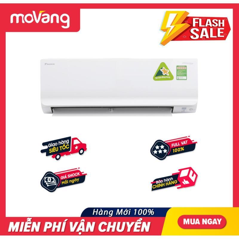 Máy lạnh Daikin Inverter 1.5 HP FTKM35SVMV công suất tiêu thụ 0.9 kW/h, kháng khuẩn khử mùi, phạm vi làm lạnh hiệu quả 15 - 20m2, tiết kiệm điện