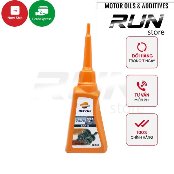 Nhớt Láp - Nhớt Hộp Số Repsol Gear Oil 80W-90 120ml - Dùng Cho Xe Tay Ga