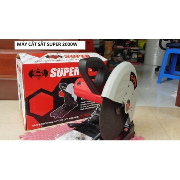 Máy cắt sắt bàn - SUPER 2000 P0870 - Thái lan- Tặng kèm lưỡi 355 theo máy - Máy cắt sắt