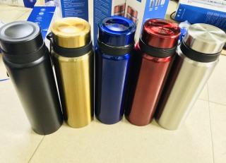 [GIẢM GIÁ SỐC] Bình nước giữ nhiệt inox cao cấp - Bình đựng nước giữ nhiệt 1 lít 5 màu thumbnail