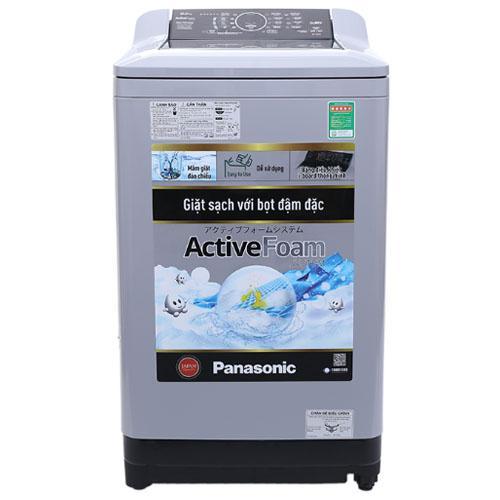 Máy giặt Panasonic 9 kg NA-F90A4GRV Trắng đen