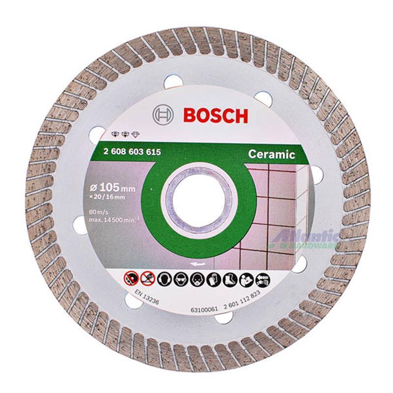 Lưỡi cắt đá ceramic 105mm Bosch