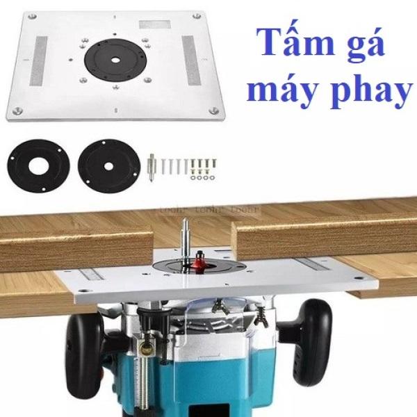 Máy phay gỗ-tấm gá máy pha chế máy phay bàn 12,7