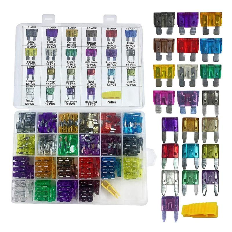10pcs New 20A Color Coded Standard ATO//ATC Blade Fuse Fit For Auto Car Truck