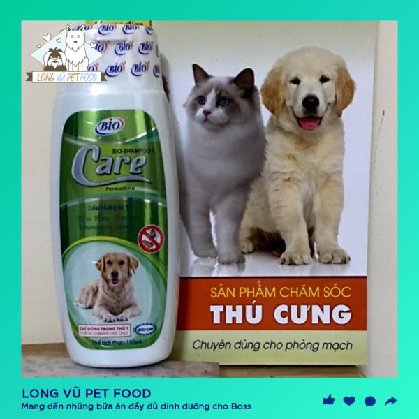 Sữa Tắm Đặc Trị Ve Rận Bọ Chét Cho Chó Mèo bio Care - Long Vũ Pet Food