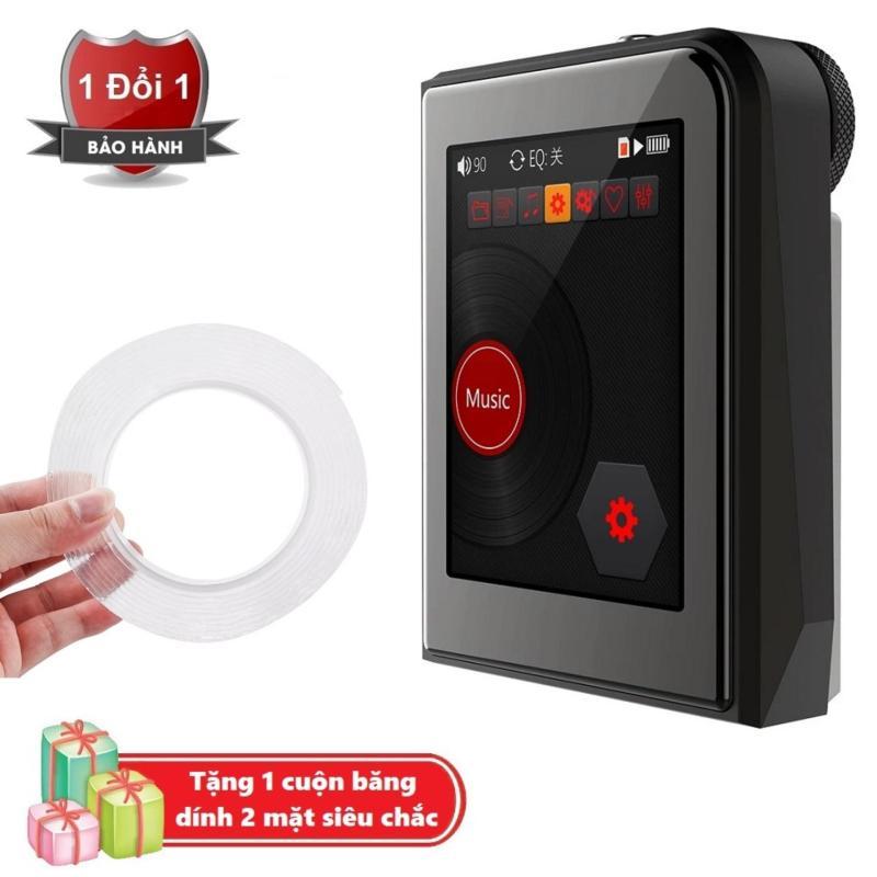 Máy nghe nhạc MP3 Lossless cao cấp Ruizu A50 - Hifi Music Player Ruizu A50 Tặng kèm Băng dính 2 mặt trong suốt đa năng