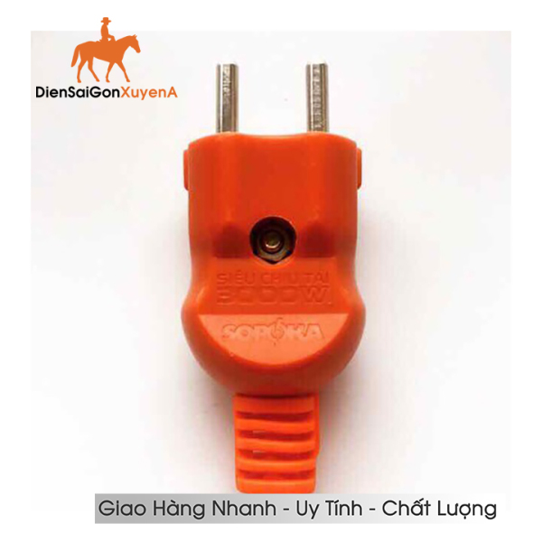 COMBO 5 Phích Cắm Điện Siêu Tải 3000W - Phích cắm chịu tải Nival 3000W - Điện Sài Gòn Xuyên Á giá rẻ